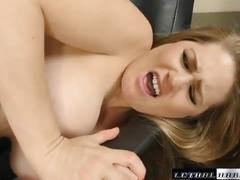 Allison is horny for stepbros big cock