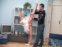 Skinny flexible ballerina sex