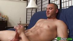 Amateur latin cum covered masturbation