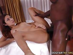 Babe jade jantzen enjoys bbc anal for the first time