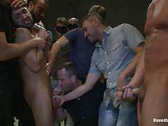 He was awfully humiliated and fucked