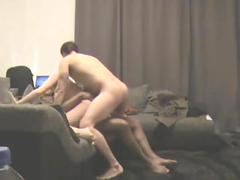 Homemade shared wife gangbang