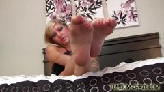 I want to make your foot fetish fantasy come true