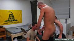 Nasty twinks learn how to suck dicks in boot camp