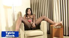 black, big tits, shemale, tattoo, piercing