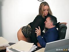 Balls deep in the minge of secretary nicole aniston