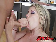 Blonde courtney cummz fucked hard