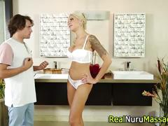 Juggs nuru masseuse fuck