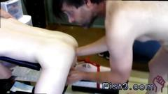 Gay guy crying while fisted first time saline injection for caleb