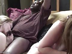 Mature amateur loves big black cock