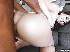 Big booty mandy gets pounded from behind