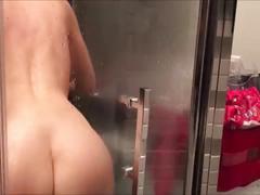 dildo, fucking, brunette, riding, amateur, homemade, fuck, toys, bathroom, masturbation, solo, french, masturbate, shower, cumming, orgasm, amatrice, mounted, cup, douches