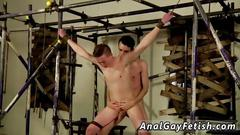 Gay anal on cock and twinks shaving beard the boy is just a hole to use