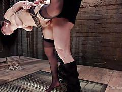 Gorgeous gabriella got tied and fucked