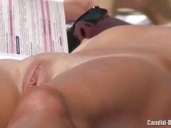 Beach spy horny couples voyeur video hd spycam
