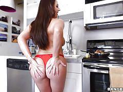 Big oiled tits