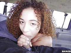 Mariah banks sucks in a bang bus