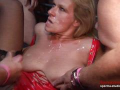 Multiple cumshots orgy - marina part 2 ------------------