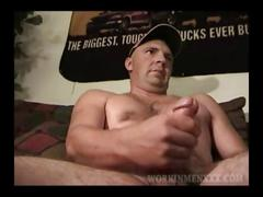 Mature amateur mark beating off