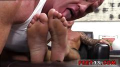 Boy with smooth legs and ass and gay sexy hot feet dev worships jason james manly feet