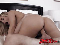 Horny milf olivia austin gets fucked by a hard cock