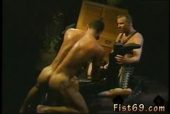 Bdsm threesome session with well hung gay hunks that need banging