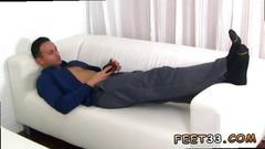 Cute bare feet guys gay spying on ravis size ten feet socks