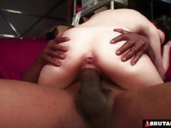 Brutalclips cock larger than her forearm