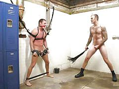 Christian wilde uses clamps to punish naughty brian