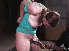 Making her the perfect slave in bdsm training