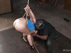 bdsm, babe, ebony, interracial, whipping, domination, dildo, tied up, rope bondage, electric vibrator, hard tied, jack hammerx, mandy muse