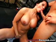 ass, big cock, blowjob, big tits, brunette