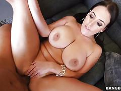 Big dick pov riding with angela white