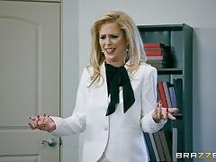 Office fucking with charles dera and cherie deville