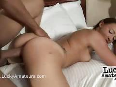 Amateur couple homemade sex video with kaycee brooks