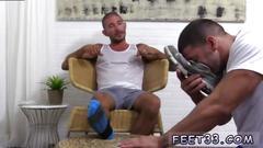 Gay hairy men cum feet and foot porn movies johnny hazzard stomps ricky larkin