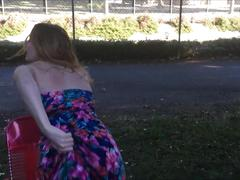 Risky public teen squirt vol 7