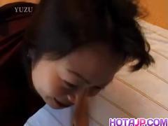 Tomomi kobayashi is hungry for a hard penis