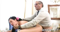 Old tutor gets cock loving action clip clip 1
