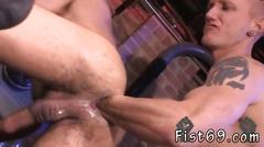 Handsome gay dude gets fisted so well by his passionate partner