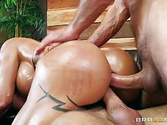 Ass and pussy fucking jewels jade