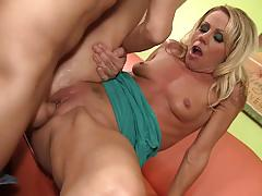 Wankz- super hot blonde milf gets fucked good and hard