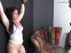 Girl's cunt kicked hard - cunt busting girls