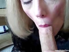 Granny loves hard cock