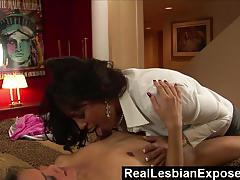 Lesbian exposed