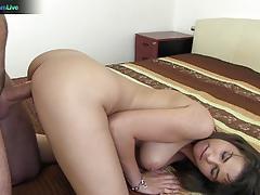 cinthia doll, brunette, blowjob, big tits, cumshot, amateur, pornstars, fucking