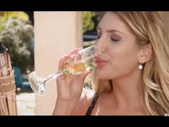 August ames in model for m-urder - 2