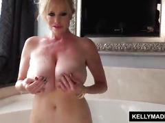 Kelly madison all wet solo bathtub masturbation