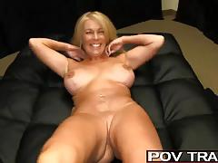 Horny older milf fucks 5 younger inlaws