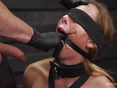 She loves rough fucking and bdsm